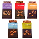 gardenbar® Protein Vegan 5-Flavor Variety Pack (2 Each) Snack Bar 1.7 Ounce Single Serve (Pack of 10)