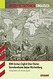 Interpretationen - Englisch Jacob: Short Stories of the 20th Century