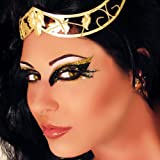 Desire Xotic Eyes Gold Eye Glitter Eye Make Up Jewels Halloween Costume Accessory