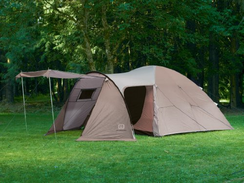 Outbound Explorer 6 Person Dome Tent (Brown Large) & Outbound Explorer 6 Person Dome Tent (Brown Large) ~ 6 person tent