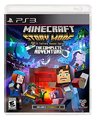 Minecraft: Story Mode- The Complete Adventure - PlayStation 3 from Telltale Games