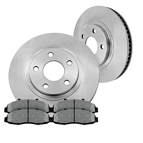FRONT Premium Grade OE 320.04 mm [2] Rotors + [4] Metallic Brake Pads Kit CM1P40177B (Dodge Challenger Rt Rotors compare prices)