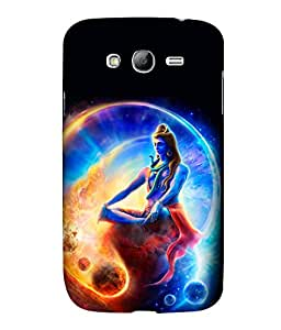 printtech Lord God Om Namah Shivaya Space Back Case Cover for Samsung Galaxy Grand Neo::Samsung Galaxy Grand Neo i9060