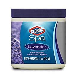 Clorox Spa 59011CSP Lavender Aromatherapy Bath and Spa Crystals, 11-Ounce