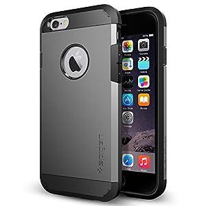 iPhone 6 Case, Spigen Tough Armor Case for iPhone 6 (4.7-Inch) - Retail Packaging -  Gunmetal (SGP11022)
