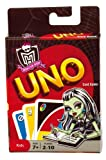 Uno Card Game Monster High