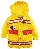 Wippette Little Boys' Waterproof Hooded Firefighter Raincoat Jacket
