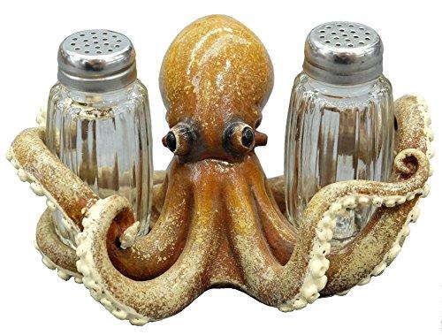 Octopus Salt and Pepper Shaker Set