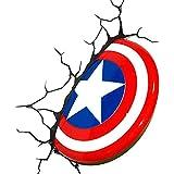 Marvel avengers thor hammer mjolnir lumi re nuit mur led for Lampe decoration murale 3d marteau thor