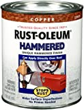 Rust-Oleum 239074 Hammered Metal Finish, Copper, 1-Quart