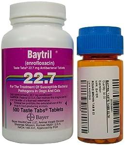 Baytril Taste Tabs - 22.7 mg - 30 count