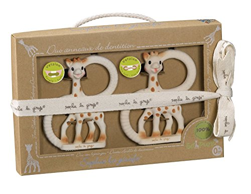 Vulli So'Pure Teether Duet, Sophie the Giraffe