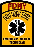 FDNY EMT DECAL