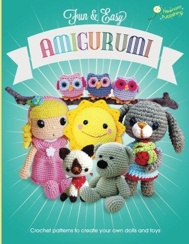Hoooked Amigurumi Vol 1 : Fun and Easy Amigurumi: Crochet patterns to create your ...