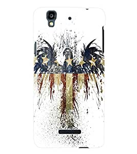 Fuson 3D Printed Bird Wallpaper Designer Back Case Cover for Yu Yureka - D788