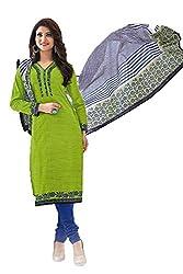 Gugaliya Women's Unstiched Superior Cotton FASHION SALWAR,KAMEEZ & DUPATTA Suit ( P515 )