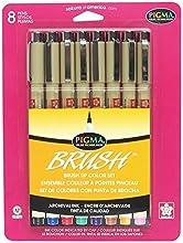 Pigma Brush Marker Set Of 8