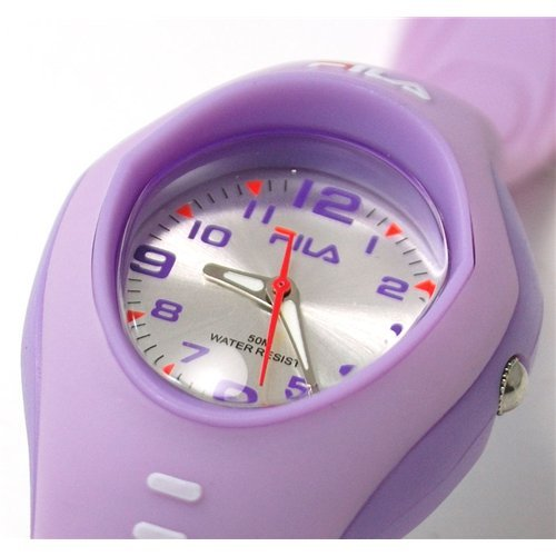 Fila Lilac Rubber Strap Kids Sports Watch & Wallet boys Gift Set 254/1677