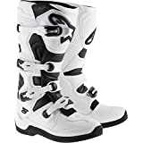 Alpinestars Tech 5 Boots-White/Black-10 (Color: White/Black, Tamaño: 10)