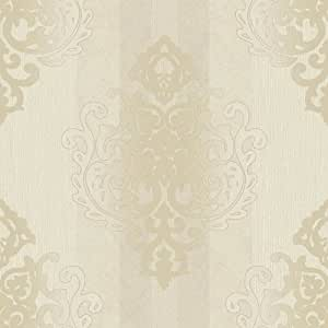 tapete rasch textil vinyltapete deha 006421 barock beige. Black Bedroom Furniture Sets. Home Design Ideas