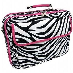 zebra print with pink trim