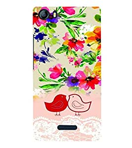 PrintVisa Stylish Cool Girl Cute 3D Hard Polycarbonate Designer Back Case Cover for Micromax Canvas 5 E481