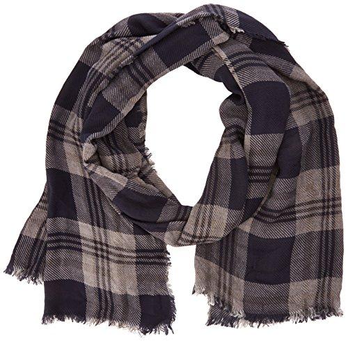 Selected - SHStevie scarf ID, Sciarpa da uomo, grigio (silver birch), unica (Taglia produttore: unica)