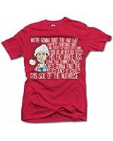 Men's Clark Griswold Rant Funny Red Christmas T Shirt Men's Tee (6.1oz)