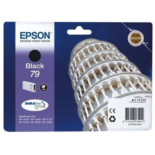 Epson T7911 Tintenpatrone Pisa, Singlepackschwarz
