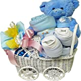 Baby Keepsake Basket (Boy)