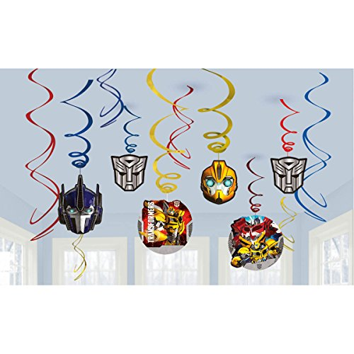American Greetings Transformers Hanging Party Decorations - 1