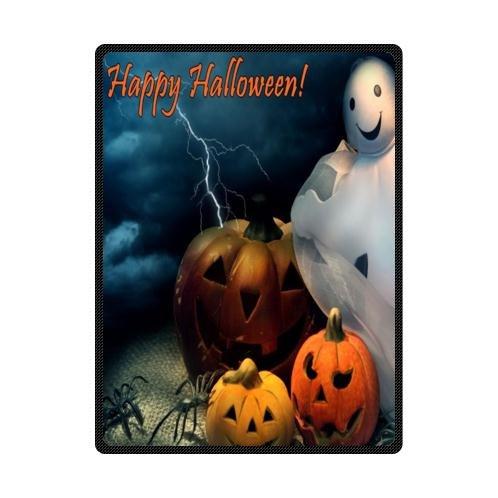 Halloween Pumpkin Fleece Blankets