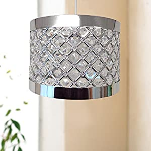 Easy Fit Moda Sparkly Ceiling Pendant Light Shade Fitting Modern Decoration from Country Club