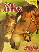 Animal Series Coloring amp Activity Books  Farm Animals 2012