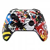 Xbox One Wireless Controller for Microsoft Xbox One - Custom Soft Touch Feel - Custom Xbox One Controller (Sticker Bomb) (Color: Sticker Bomb)