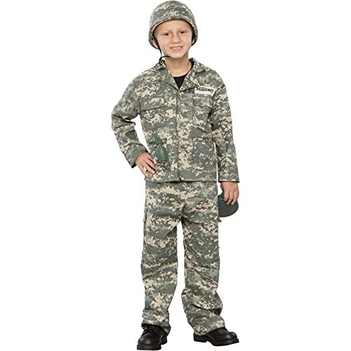 Seasons Boys Army Man Halloween Costume