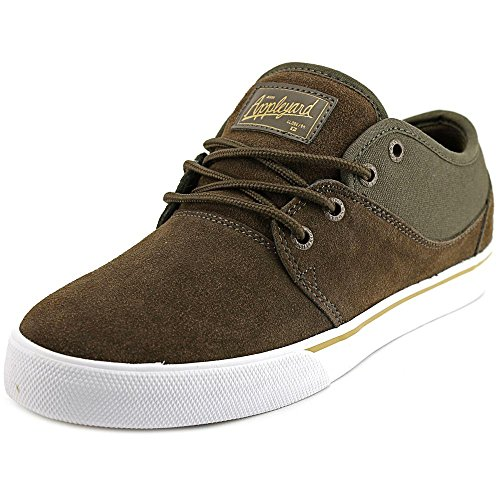 Globe Men's Mahalo Skateboard Shoe, Chocolate/Chestnut, 8 M US