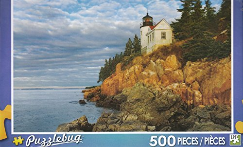 Puzzlebug 500 - Bass Harbor Light