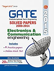 GATE Paper Electronics & Cummunications Engg 2015 (Solved Papers 2000-2014)