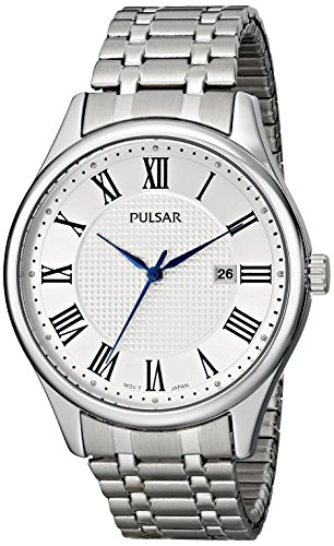 Pulsar Three-Hand Stainless Steel Men's watch #PH9039