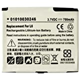 HIGH CAPACITY REPLACEMENT RECHARGEABLE LITHIUM-ION BATTERY FOR MOTOROLA - BR50 - SLVR L2, SLVR L6, SLVR L7, SLVR L7e,RAZR V3x, RIZR Z3