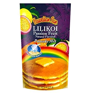 Lilikoi Passion Fruit Pancake Mix 6 ounce
