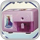 サンスター文具  アナと雪の女王 電動鉛筆削器 s4312376