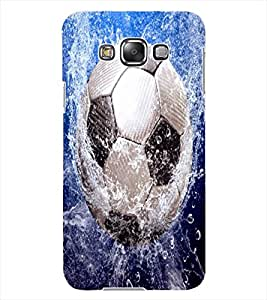 ColourCraft Football in Water Design Back Case Cover for SAMSUNG GALAXY GRAND MAX G720