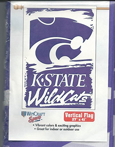 "Kansas State Wildcats Wincraft Team Flag - 27""x41"""