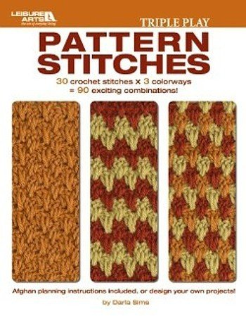 Leisure Arts-Triple Play Pattern Stitches front-1005942