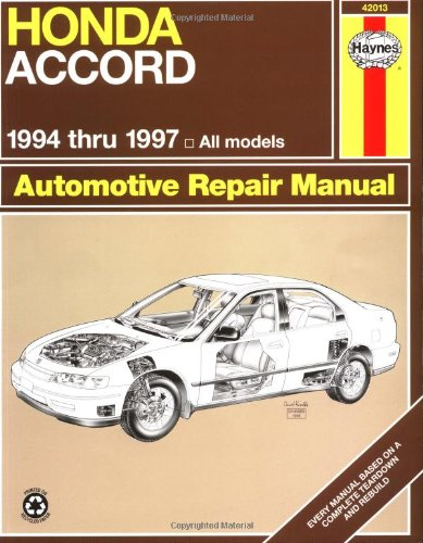 Honda Accord 1994-1997 (Haynes Manuals) front-508636