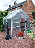 6 x 4 Aluminium Greenhouse