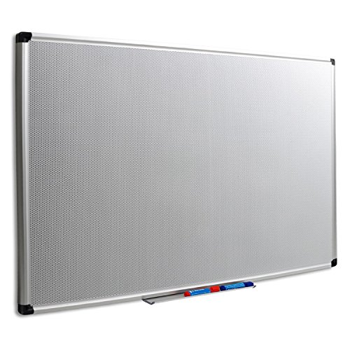 Master of Boards® Magnetic Memo Board - Dual Function Pin Board with Stable Aluminium Frame | 1'6