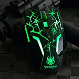 Ajazz Spider Hero Ajustable 24000dpi Optical Wired Gaming Mouse for Pc Mac